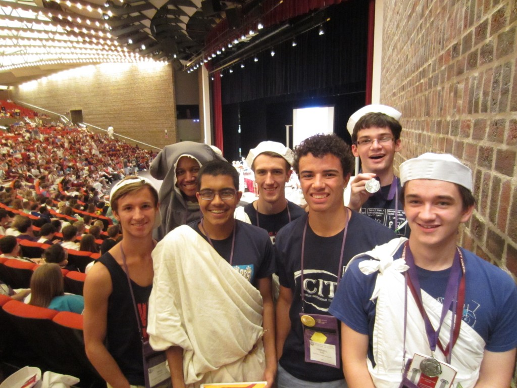 Advanced Certamen:  2nd in the Nation!