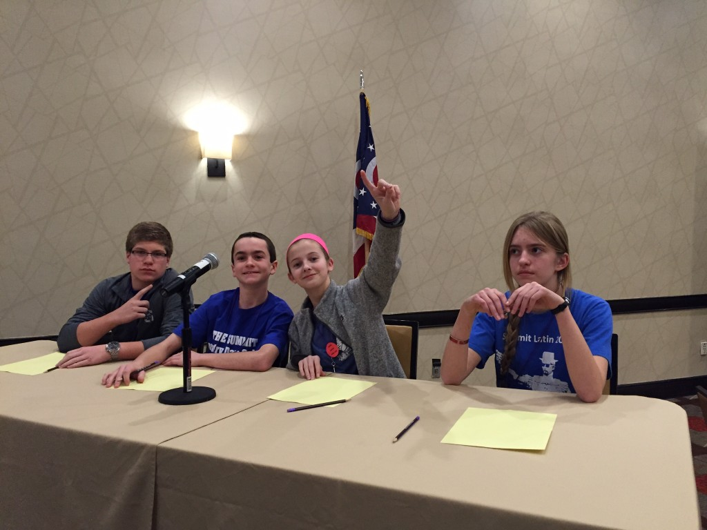 Summit Novice Certamen - STATE CHAMPIONS!!