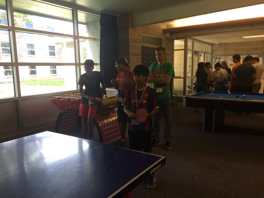 The ping pong has begun...