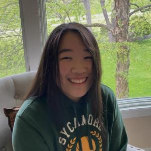 Treasurer Alicia Luo
