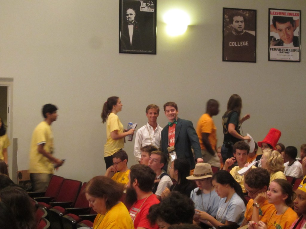 Tullus and Will at NomComm:  they are the 2 official voting delegates from OH.