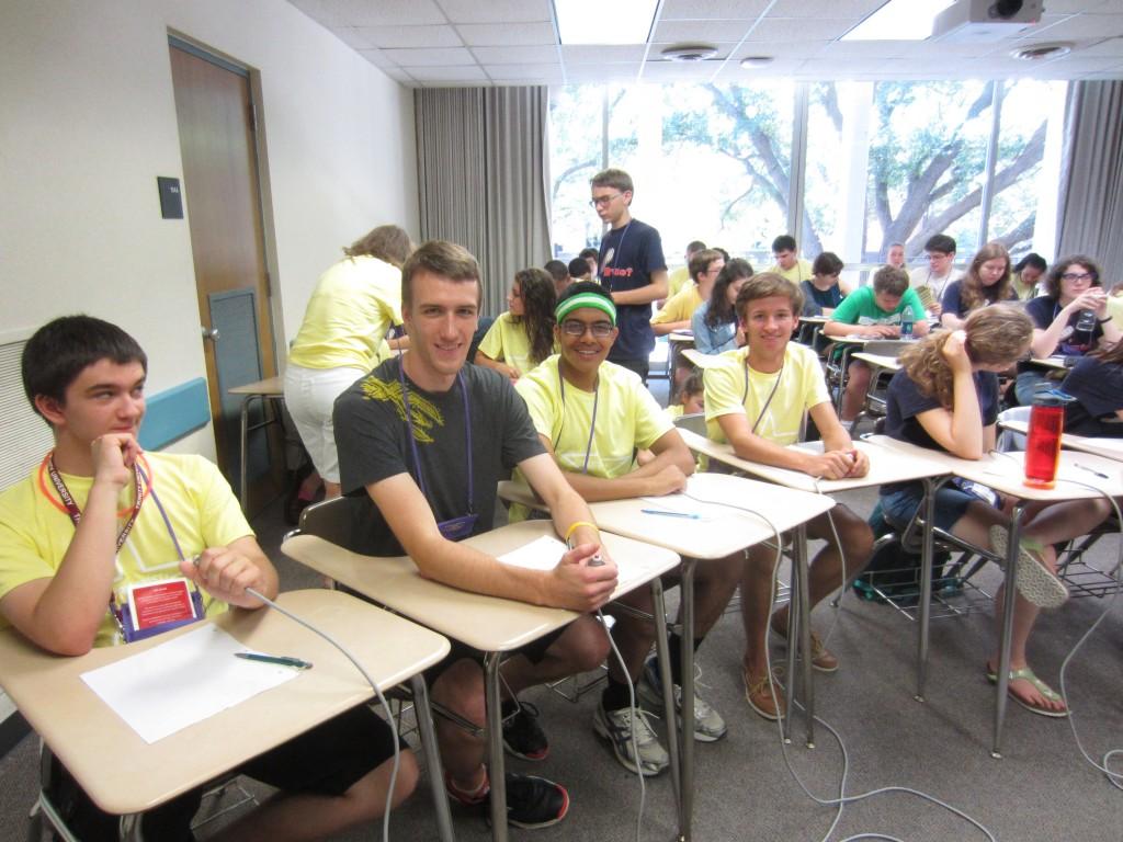 Advanced Team:  Alex, Will, Sameer, and Tullus